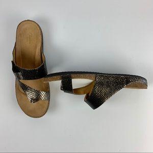 Clark's Artisan Sandal 11 W Bronze Perri Coast